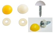 White/Yellow Self Tapping Screws